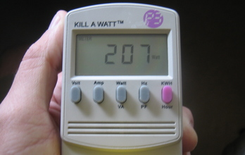Before: 207 Watts