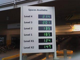 MSR Building 99 Parking Garage Sign