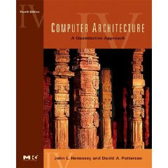 Book Cover: Henessey & Patterson: Computer Architecture